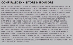 MIPIM UK 2014 Confirmed exhibitors