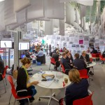 MIPIM UK 2014 - Day 2 - RIBA MIPIM UK Visitors lounge