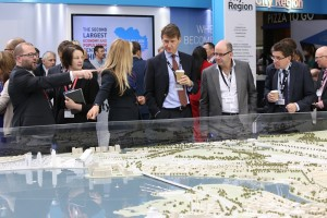 MIPIM UK 2014 - Day 2 - Model of Cardiff