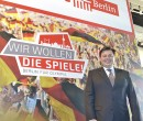 Berlin senator Andreas Geisel addressed delegates on the Berlin stand - German markets