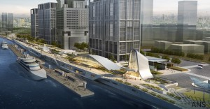 BEST CHINESE FUTURA PROJECT Shanghai Pier 16 Riverbank Financial Center