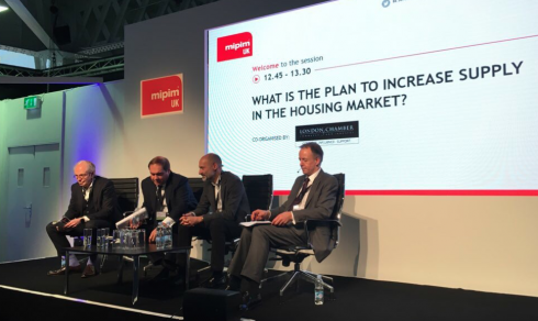 Increase supply in housing market MIPIM UK