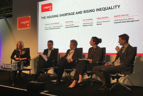 The housing shortage and rising inequality MIPIM UK