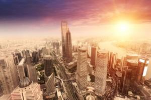 landscape of Shanghai