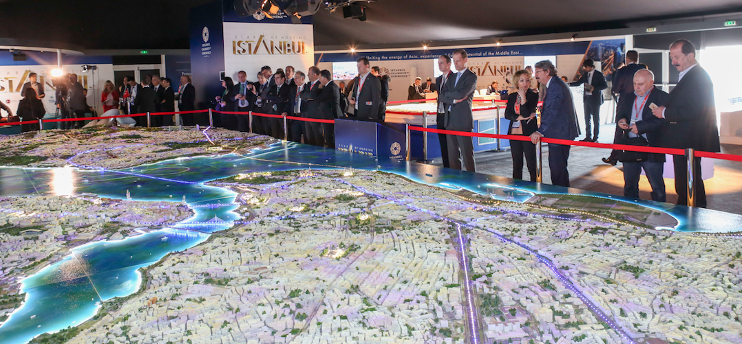 Istanbul stand, MIPIM 2016