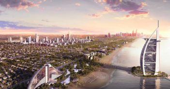 Jumeirah Central Aerial Beach
