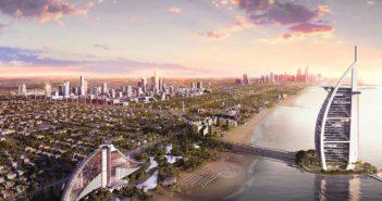 Jumeirah Central Aerial Beach