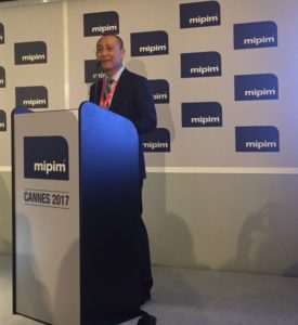 Alex GONG, CEO of Fosun Properties MIPIM 2017