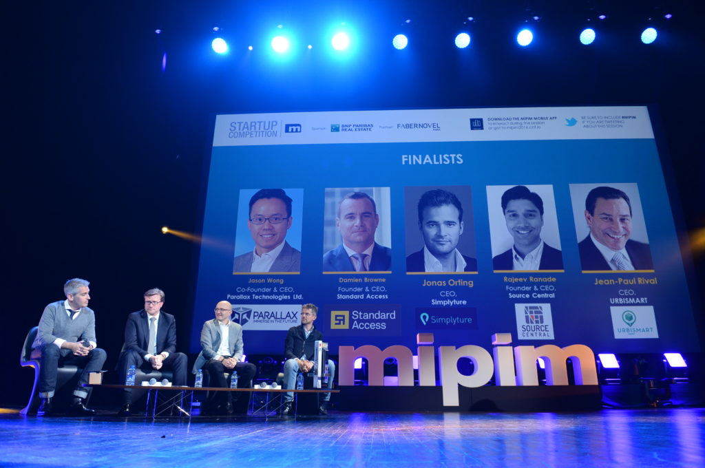 MIPIM 2017 Top 10 STARTUP COMPETITION