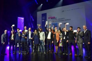 Startup winners group shot