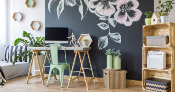 Home workspace with chalkboard © KatarzynaBialasiewicz/GettyImages