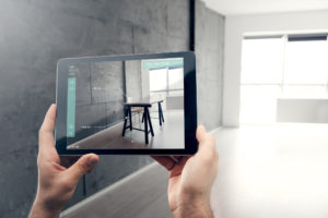 Augmented reality Interior Design © Georgijevic/GettyImages