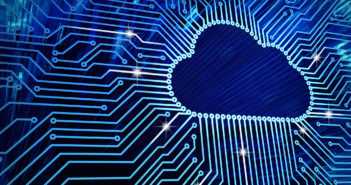Cloud computing and network security technology concept