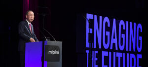 Ban Ki-moon mipim