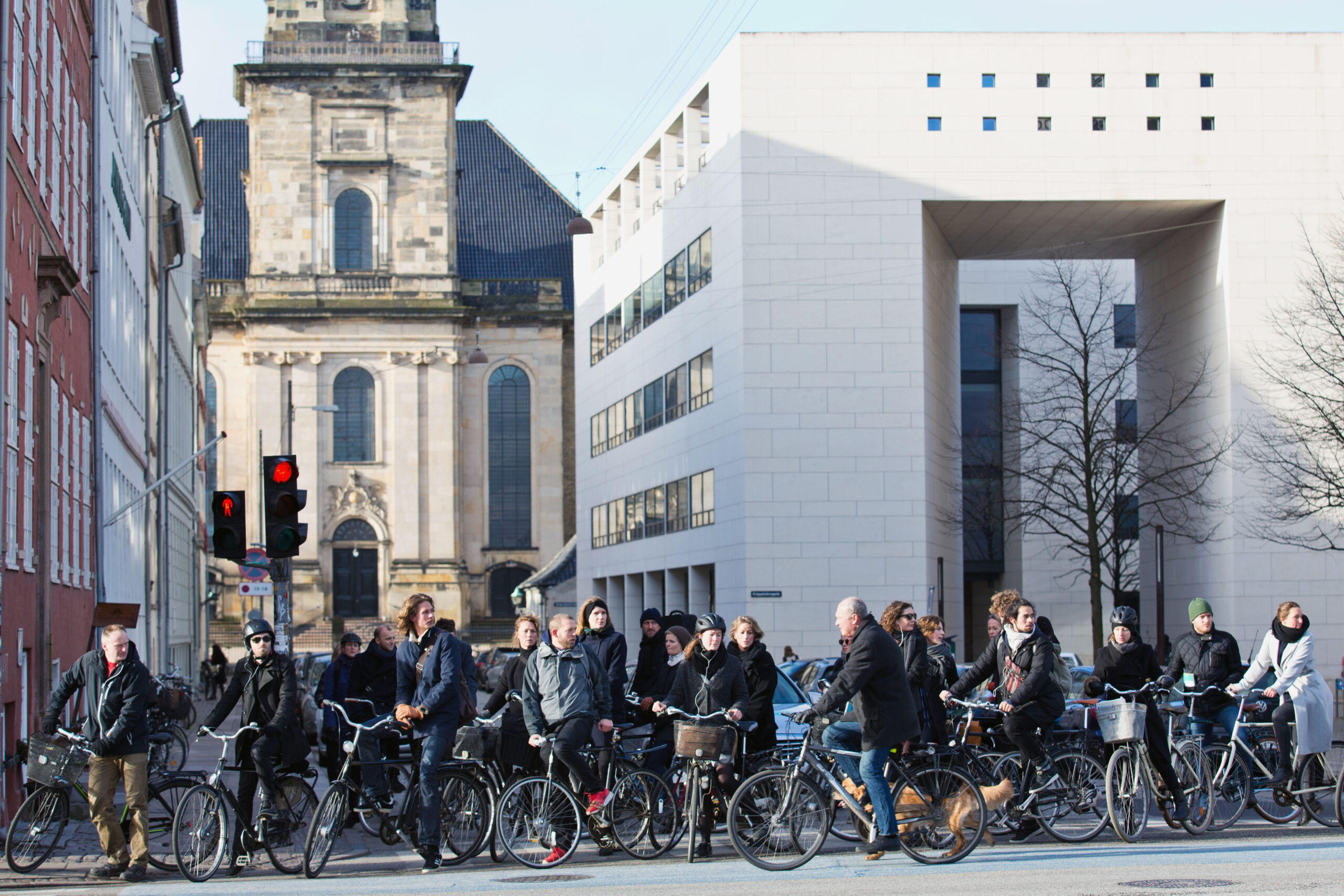 Nearly two-thirds of Copenhageners use a bicycle as their main means of transport
