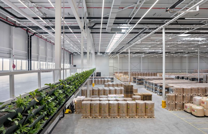 Prologis Park on logistic real estate