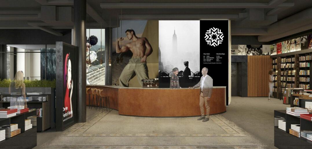 Fotografiska NYC lobby render