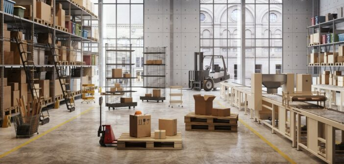 Supply-chain warehousing & logistics in a 'just-in-case' world