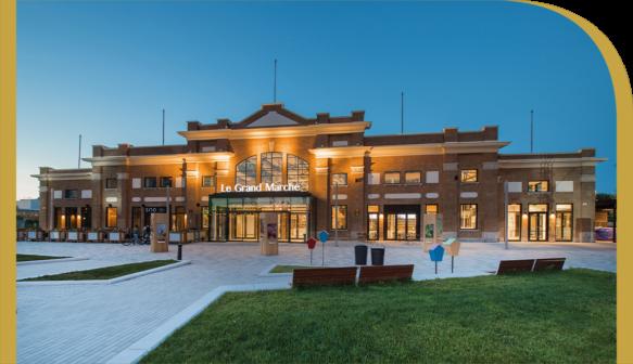 Le Grand Marche de Quebec - Mipim awards building
