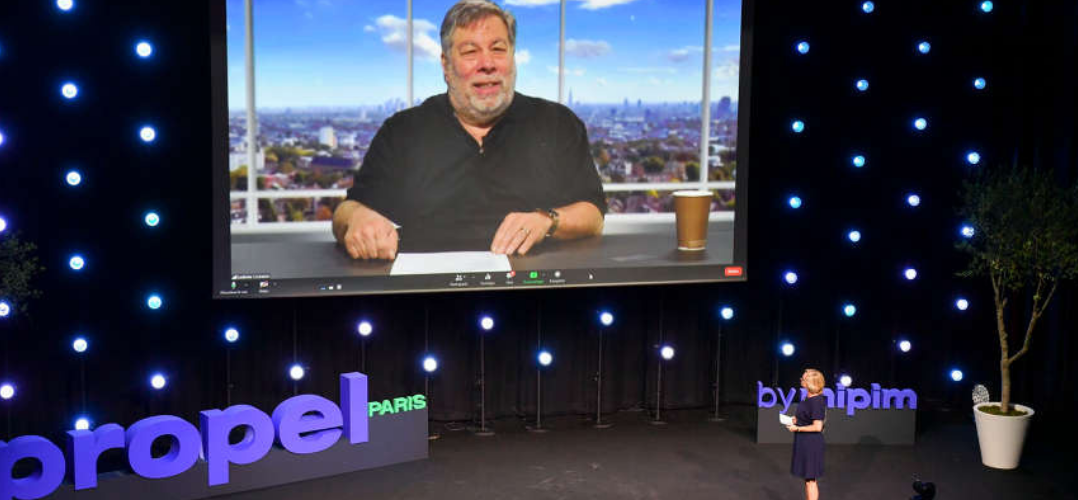 Moderated chat with Steve Wozniak, Co-Founder, Apple Propel by MIPIM Paris