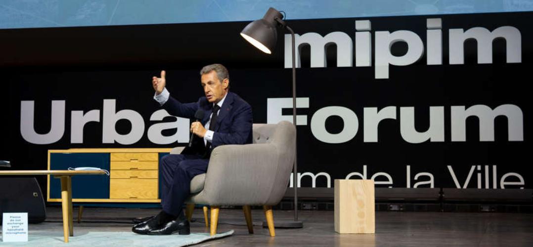 PRESIDENT NICOLAS SARKOSY MIPIM URBAN FORUM 2020