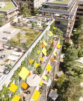 Housing Priority to green space: the Woodeum project at Meudon