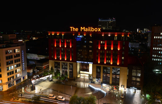 The Mailbox in Birmingham is home to department store Harvey Nichols.